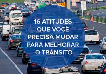 16 atitudes que você precisa mudar para melhorar o trânsito