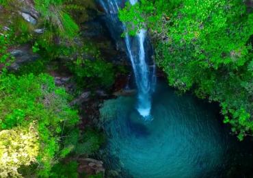 Drone sobrevoa Chapada dos Veadeiros, em Goiás, e mostra atrativos de um jeito que você nunca viu