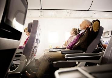 Companhia aérea quer transportar passageiros em pé