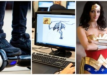 Goiânia recebe circuito de skate elétrico, oficina de criação de games e concurso de Cosplay