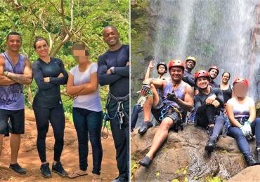 Grupo vai fazer rapel em cachoeira e acaba salvando adolescente de suicídio