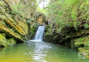 Conheça a Cachoeira do Canyon: águas cristalinas e paredões rochosos ainda pouco explorados pelos turistas de Pirenópolis