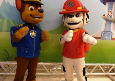 Shopping promove encontro com personagens oficiais da Patrulha Canina em Goiânia