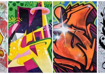 Tipografia usada em graffitis espalhados pelas ruas é tema de exposição gratuita em Brasília
