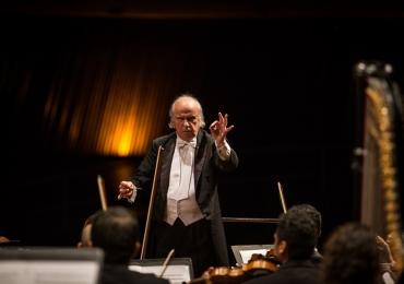 Karabtchevsky rege a Filarmônica de Goiás em próximo concerto em Goiânia