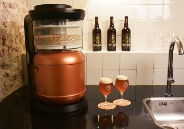 Inventaram uma máquina de cerveja expresso tipo cafeteira