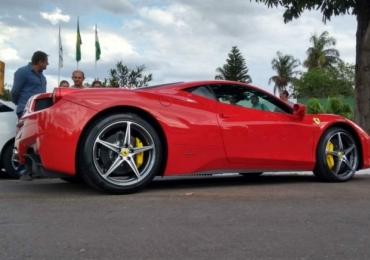 Ferrari de R$ 1,3 mi é apreendida em Goiânia