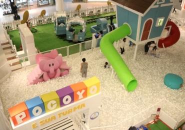 Shopping de Brasília recebe circuito com brincadeiras inspirada em animação infantil