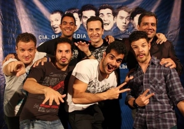 Comedy Flix em Brasília. Cia de comédia Sete Belos.