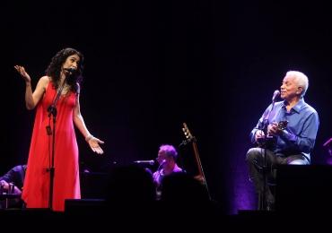 Marisa Monte e Paulinho da Viola fazem show em Brasília
