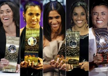Marta é finalista dos melhores do mundo pela Fifa e não se contém em comemoração