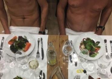 Cresce a moda dos restaurantes onde os clientes jantam completamente nus