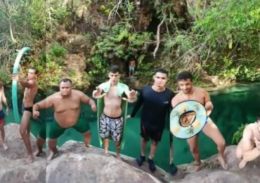 Goianos fazem vídeo com cena famosa da Marvel: 'Vingadores do Cerrado'