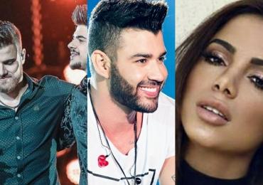10 músicas nacionais mais ouvidas em 2018