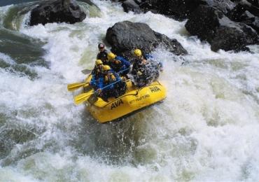Aventureiros poderão praticar Rafting em Uberlândia