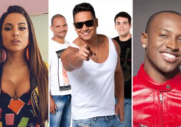 Harmonia do Samba grava DVD com Anitta, Thiaguinho e Leo Santana em Brasília