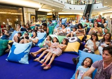Shopping de Brasília presenteia as crianças com 30 sessões gratuitas de cinema