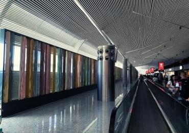 Aeroporto de Brasília ganha obra de Athos Bulcão