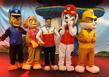 Fenômeno da TV, 'Patrulha Canina' apresenta espetáculo em Goiânia