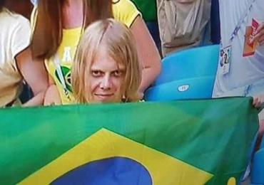 Descobrimos quem é o misterioso torcedor do Brasil