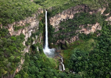 Salto do Itiquira: a maior cachoeira do Centro-Oeste fica em Goiás a 280 km de Goiânia