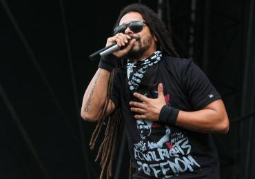 Falcão, ex-vocalista da banda O Rappa,  faz show em Goiânia