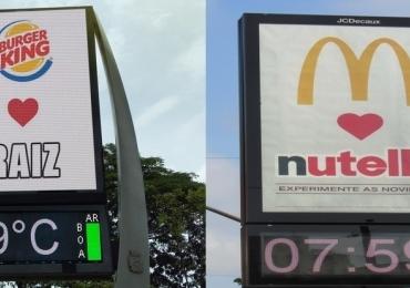 Burger King ironiza com meme parceria entre McDonald's e Nutella