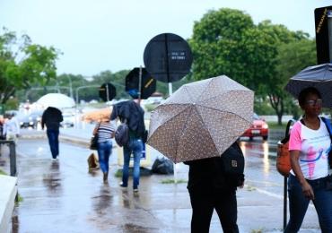 Previsão do tempo no Distrito Federal tem pancadas de chuvas e trovoadas durante a semana