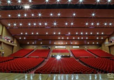 Fomos conferir a estrutura do novo teatro de Goiânia, o maior e mais moderno do estado