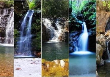 10 cachoeiras para curtir o Carnaval até 200km de Goiânia