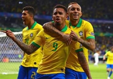 Brasil faz 3 a 1 no Peru e é campeão da Copa América 2019