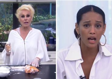 Ana Maria Braga deixa recado no Instagram para Tais Araújo após saia justa no programa 'Mais Você'