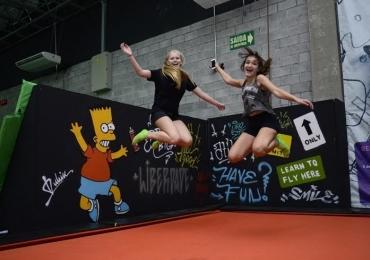 Parque de Trampolins promove atrações diferenciadas para as férias em Goiânia