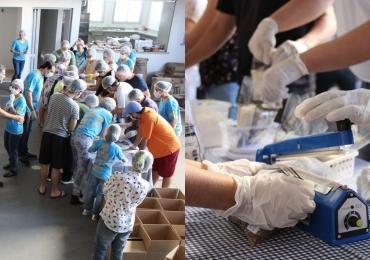 ONG de Goiânia distribuirá cinco mil refeições no antigo lixão de Aparecida de Goiânia