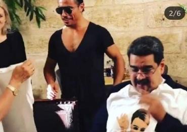 Enquanto 3,7 milhões passam fome na Venezuela, Presidente come churrasco de luxo em Istambul