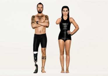 Campanha para os Jogos Paralímpicos tira o braço e a perna de Cleo Pires e Paulinho Vilhena