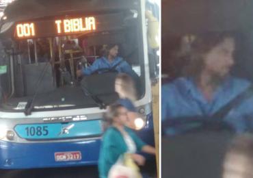 Internautas flagram 'Jesus Cristo' dirigindo ônibus no Terminal da Bíblia em Goiânia