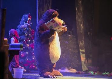 Fenômeno infantil, Masha e o Urso volta a Brasília com cenário maior e novo espetáculo