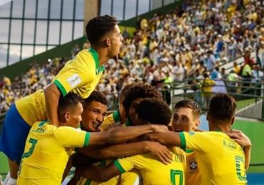 Brasil e Angola jogam em Goiânia pelo Mundial Sub-17 com ingressos a preços populares