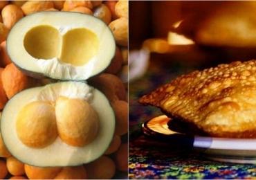 Achamos em Uberlândia lanchonete que oferece pastel com creme de pequi, fruto típico do cerrado