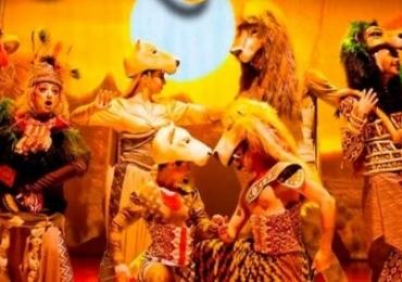 Musical inspirado no filme o Rei Leão desembarca neste fim de semana em Brasília