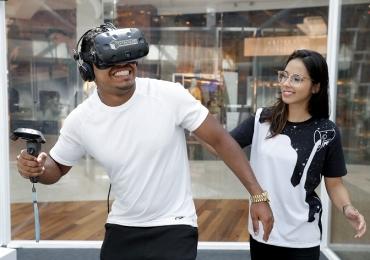 Circuito gratuito com atrações de realidade virtual desembarca em shopping de Brasília