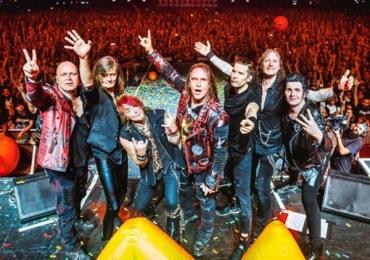 Helloween se apresenta em Brasília e substitui Megadeth em show no festival Rock ao Vivo