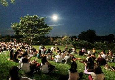 Brasília recebe mais uma edição de meditação gratuita para celebrar a lua cheia