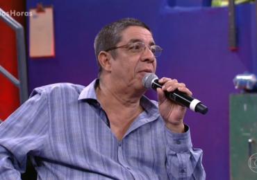 Vídeo: Zeca Pagodinho dá resposta grosseira no Altas Horas e internet não perdoa