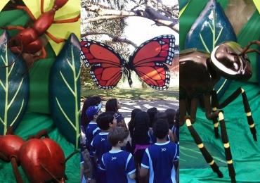 O museu educacional de Goiânia que leva gigantes para dentro das escolas