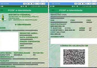 Ação voluntária:  moradores de região do DF podem emitir primeira via gratuita de identidade