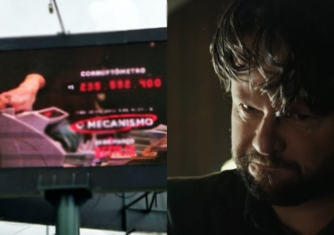 Netflix instala corruptômetro em Brasília para divulgar nova série brasileira