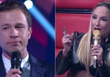 Final do The Voice Brasil tem gafes, Claudia Leitte de sutiã e vencedora de 17 anos