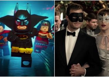 50 tons mais escuros e Lego Batman chegam aos cinemas para agitar as telonas em Goiânia
